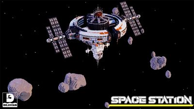 Space Station on the Minecraft Marketplace by Diluvian