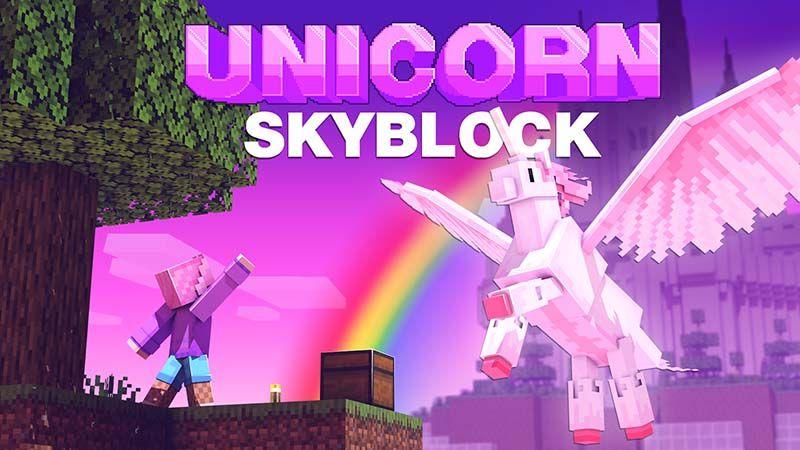 Unicorn Skyblock on the Minecraft Marketplace by Mine-North