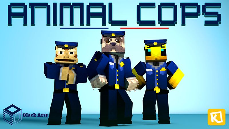 Animal Cops on the Minecraft Marketplace by Black Arts Studios