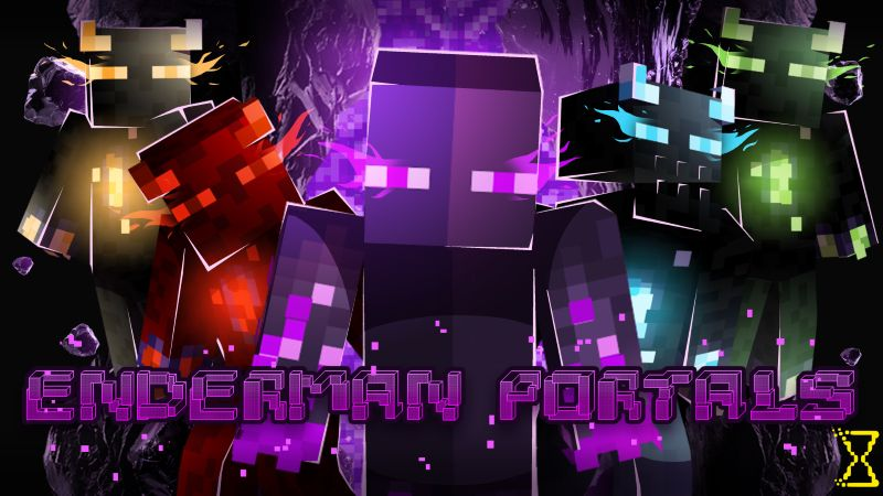Enderman Portals on the Minecraft Marketplace by Hourglass Studios