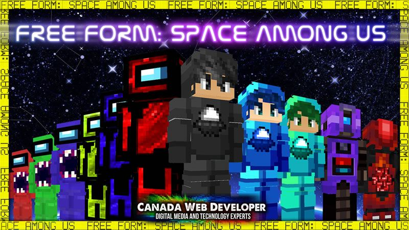 Free Form Space Among US on the Minecraft Marketplace by CanadaWebDeveloper