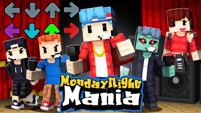 Monday Night Mania on the Minecraft Marketplace by 100Media