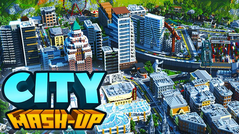 City Mashup on the Minecraft Marketplace by Everbloom Games
