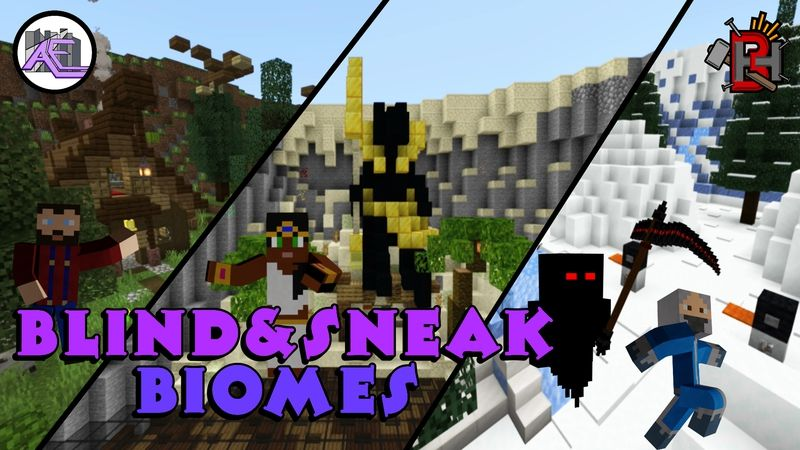 Blind  Sneak  Biomes on the Minecraft Marketplace by Builders Horizon