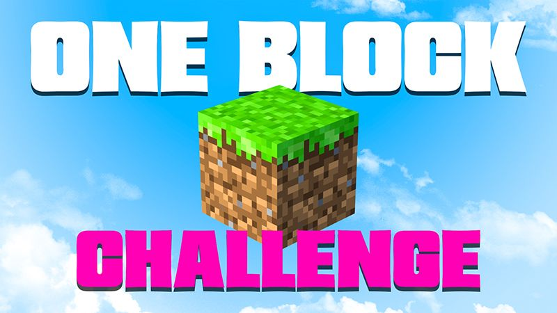 One Block Challenge on the Minecraft Marketplace by 4KS Studios