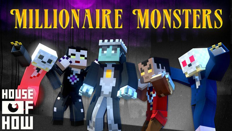 Millionaire Monsters on the Minecraft Marketplace by House of How