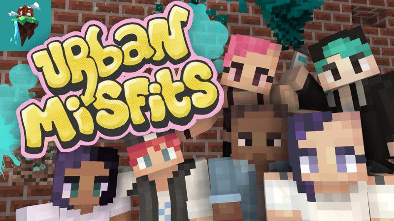 Urban Misfits Skin Pack on the Minecraft Marketplace by Polymaps