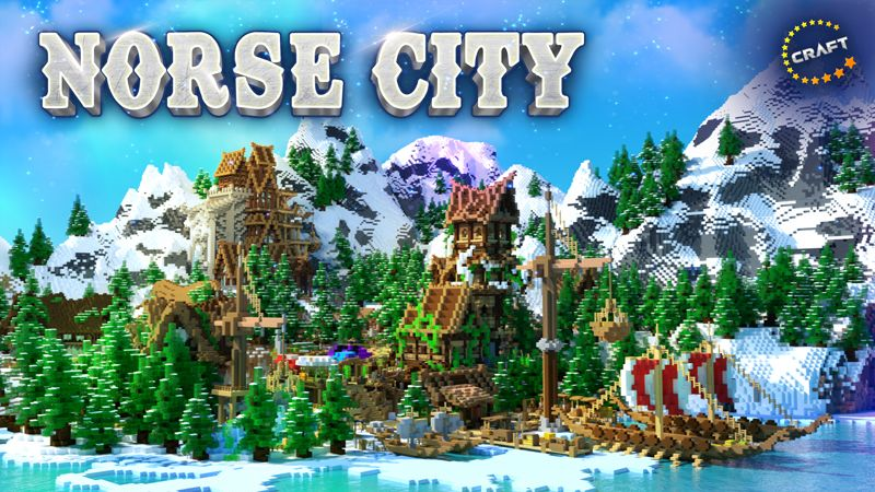 Norse City on the Minecraft Marketplace by The Craft Stars