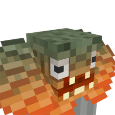 Frilled Lizard Head on the Minecraft Marketplace by Cleverlike
