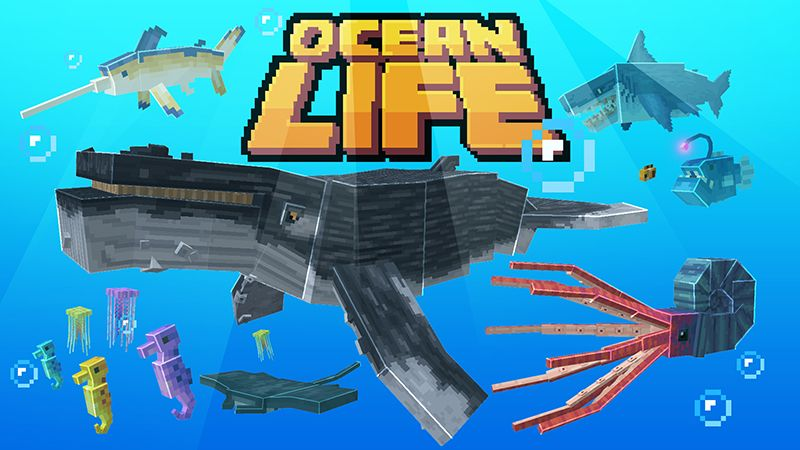 Ocean Life on the Minecraft Marketplace by Mine-North
