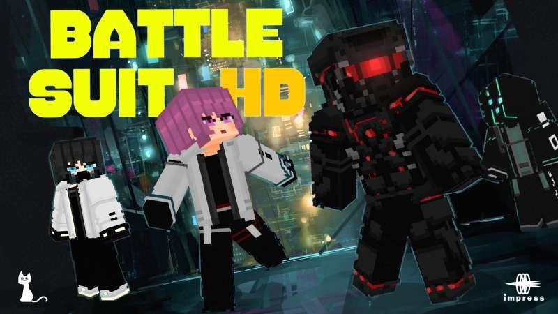 Battle Suit HD on the Minecraft Marketplace by Impress