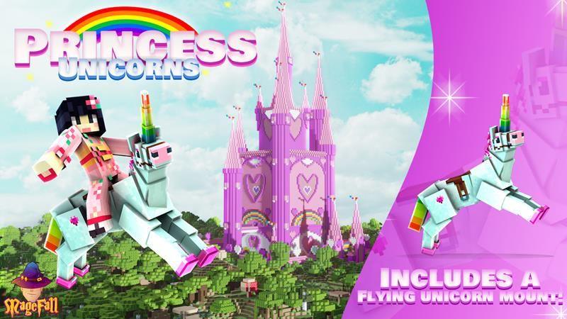 Princess Unicorns on the Minecraft Marketplace by Magefall