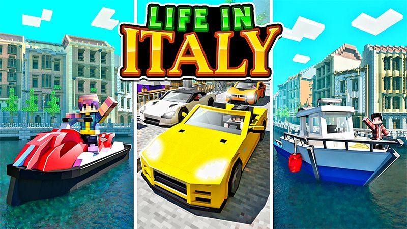 Life In Italy on the Minecraft Marketplace by Kreatik Studios