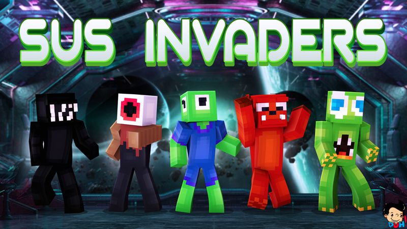 Sus Invaders on the Minecraft Marketplace by Duh