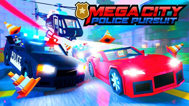 Mega City Police Pursuit on the Minecraft Marketplace by Kreatik Studios