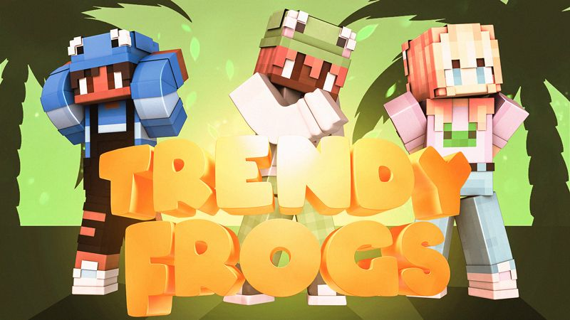 Trendy Frogs on the Minecraft Marketplace by Impulse