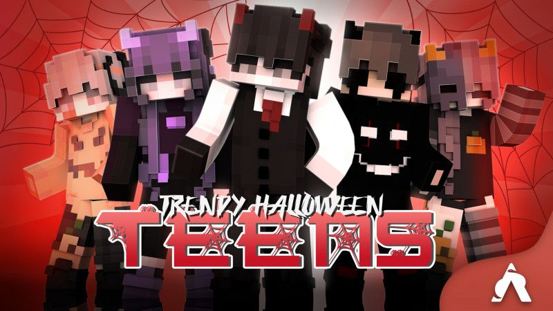 Trendy Halloween Teens on the Minecraft Marketplace by Atheris Games