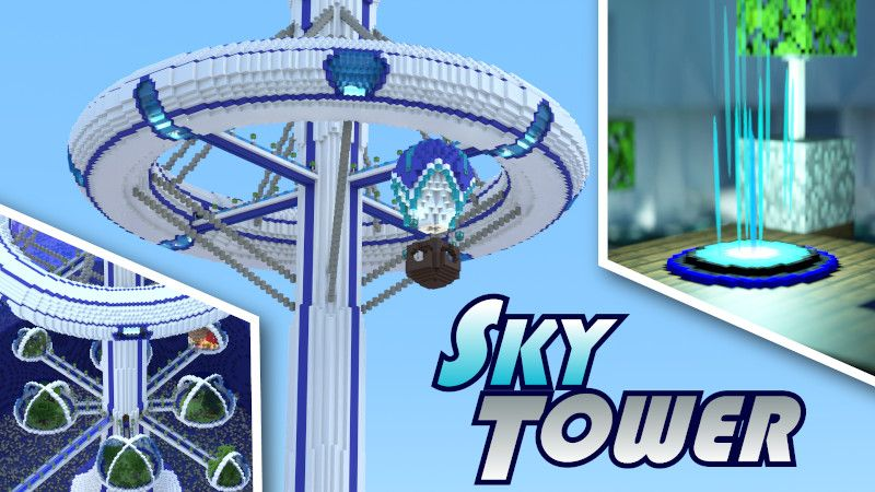 Sky Tower on the Minecraft Marketplace by BTWN Creations
