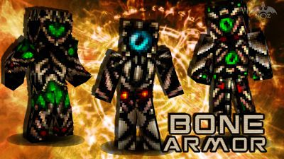 Bone Armor on the Minecraft Marketplace by Dragnoz