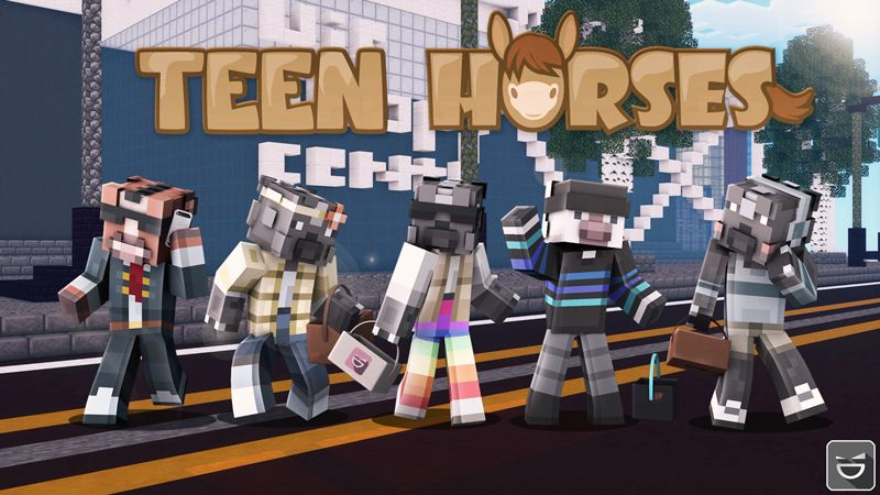 Teen Horses on the Minecraft Marketplace by Giggle Block Studios
