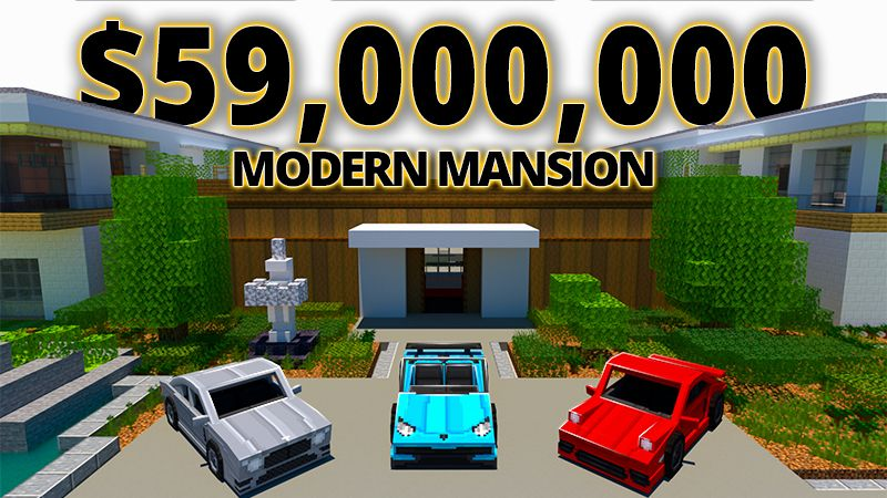 Modern Mansion on the Minecraft Marketplace by Mine-North