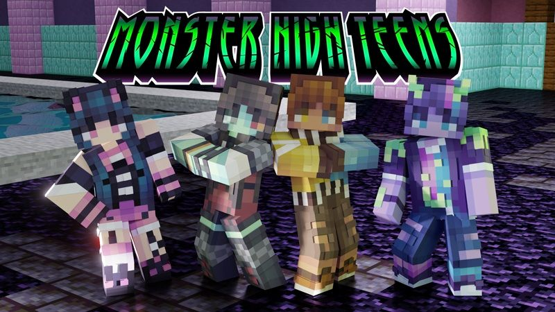 Monster High Teens on the Minecraft Marketplace by FTB