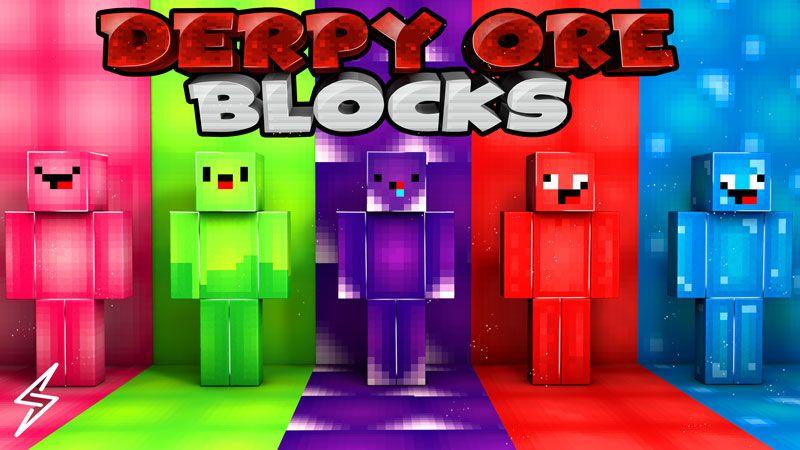 Derpy Ore Blocks on the Minecraft Marketplace by Senior Studios