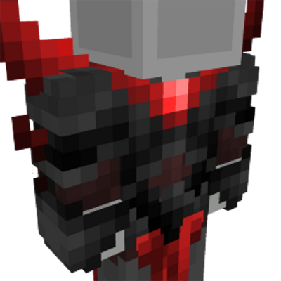Red Hunter Suit on the Minecraft Marketplace by Cynosia