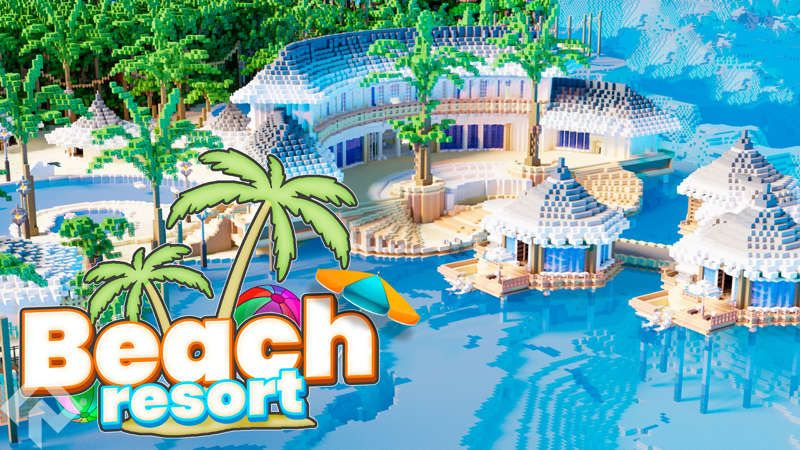 Beach Resort on the Minecraft Marketplace by RareLoot