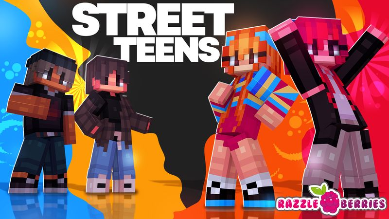 Street Teens on the Minecraft Marketplace by Razzleberries