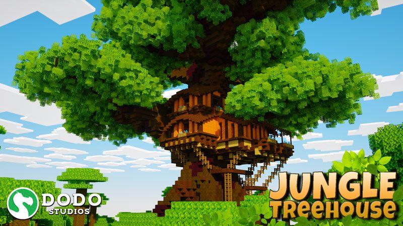 Jungle Treehouse on the Minecraft Marketplace by Dodo Studios
