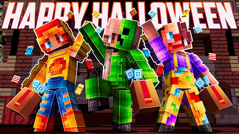 Happy Halloween on the Minecraft Marketplace by Dig Down Studios