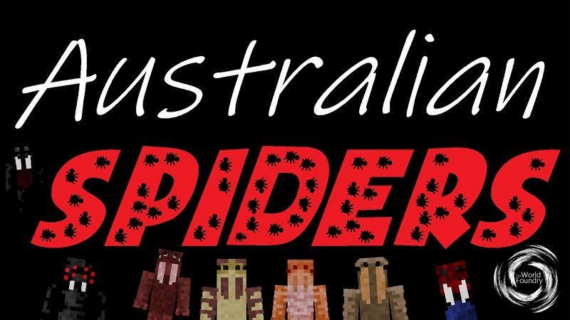 Australian Spiders on the Minecraft Marketplace by The World Foundry