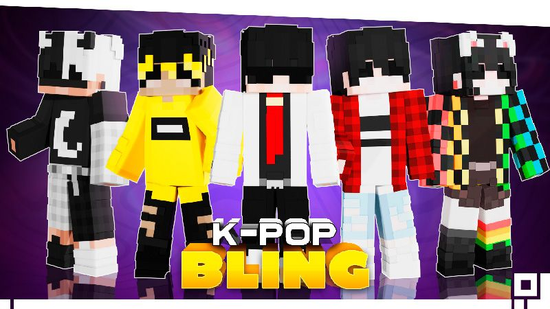 KPOP Bling on the Minecraft Marketplace by inPixel