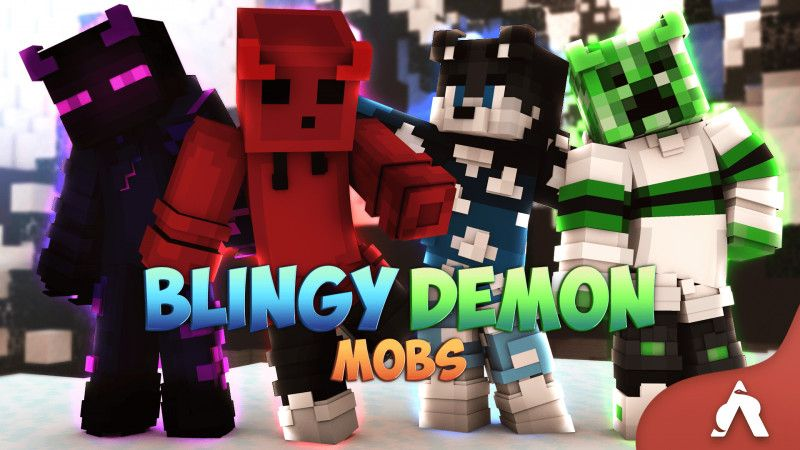 Blingy Demon Mobs on the Minecraft Marketplace by Atheris Games