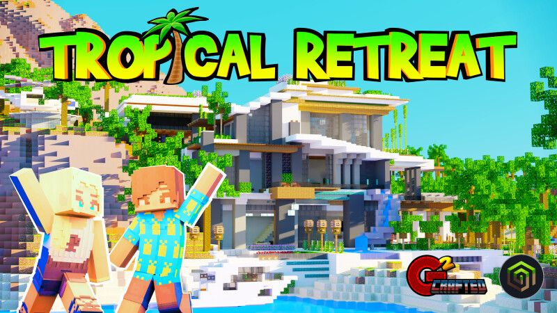 Tropical Retreat on the Minecraft Marketplace by G2Crafted