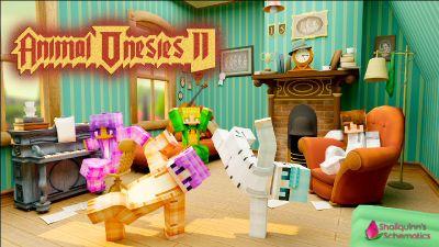 Animal Onesies II on the Minecraft Marketplace by Shaliquinn's Schematics