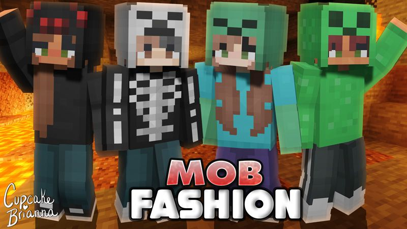 Mob Fashion Skin Pack on the Minecraft Marketplace by CupcakeBrianna