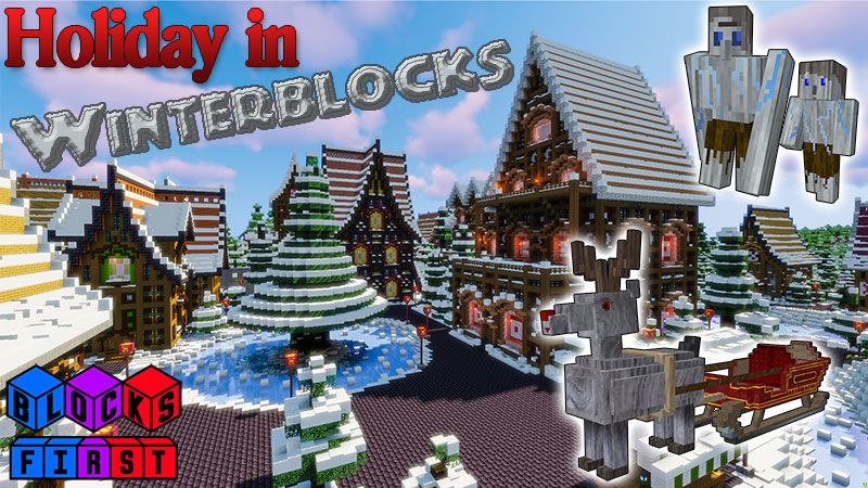 Holiday in Winterblocks on the Minecraft Marketplace by Blocks First