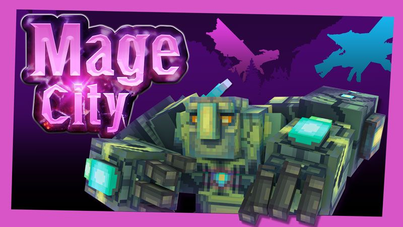 Mage City on the Minecraft Marketplace by Blockception