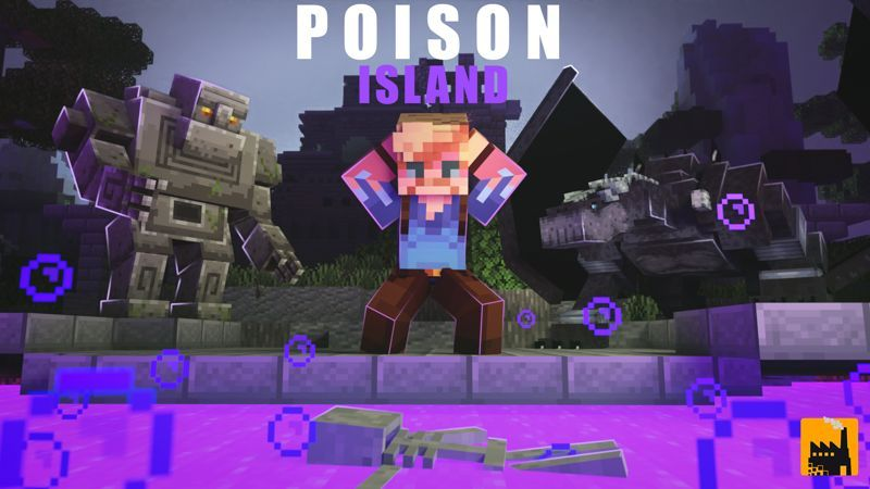 Poison Island on the Minecraft Marketplace by Block Factory