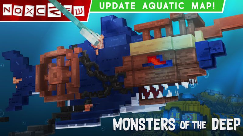 Monsters of the Deep on the Minecraft Marketplace by Noxcrew