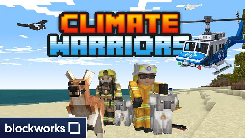 Climate Warriors on the Minecraft Marketplace by Blockworks