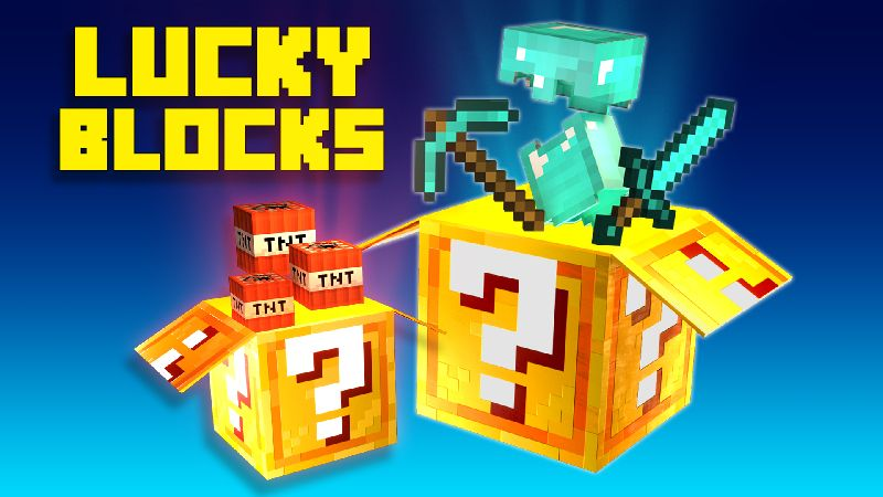 Lucky Blocks on the Minecraft Marketplace by 4KS Studios