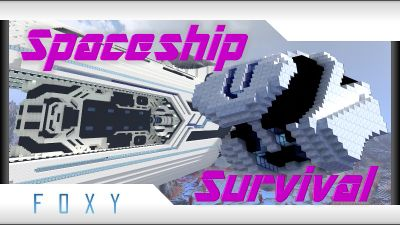 Spaceship Survival on the Minecraft Marketplace by Foxy