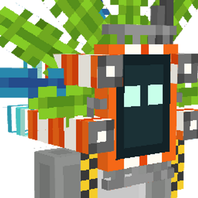 Robot Tribe Mask on the Minecraft Marketplace by Owls Cubed