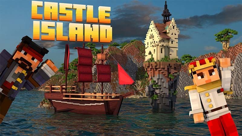 Castle Island on the Minecraft Marketplace by Mine-North
