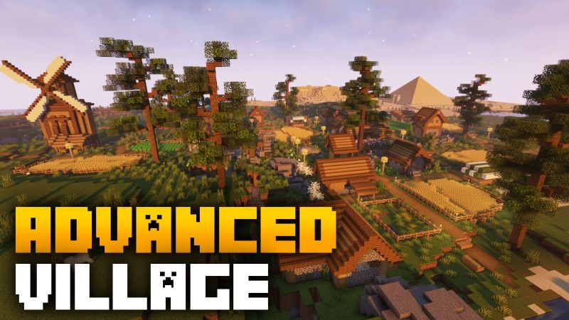 Advanced Village on the Minecraft Marketplace by Fall Studios