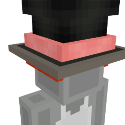 Crazy Hatter Hat on the Minecraft Marketplace by Lifeboat