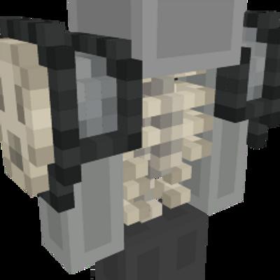 Skeleton Warrior Body on the Minecraft Marketplace by Netherpixel